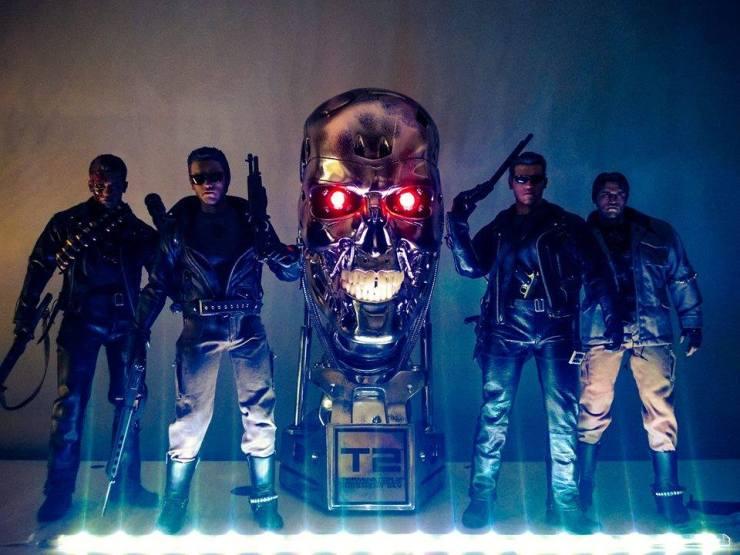 Gerbrand Uit de Kast Hot Toys Terminator