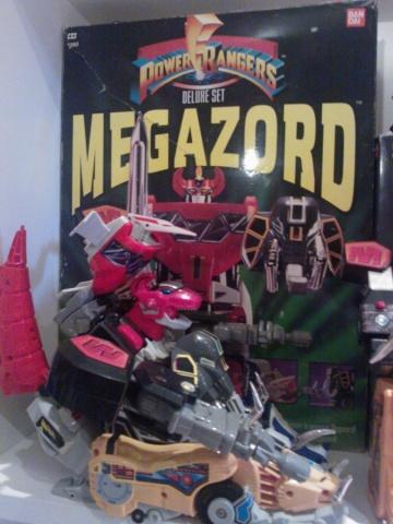 Megazord Power Rangers