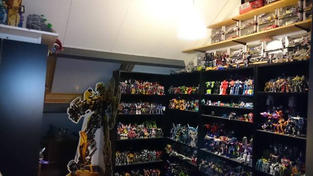 Transformers shelfporn Vincent Tijbout
