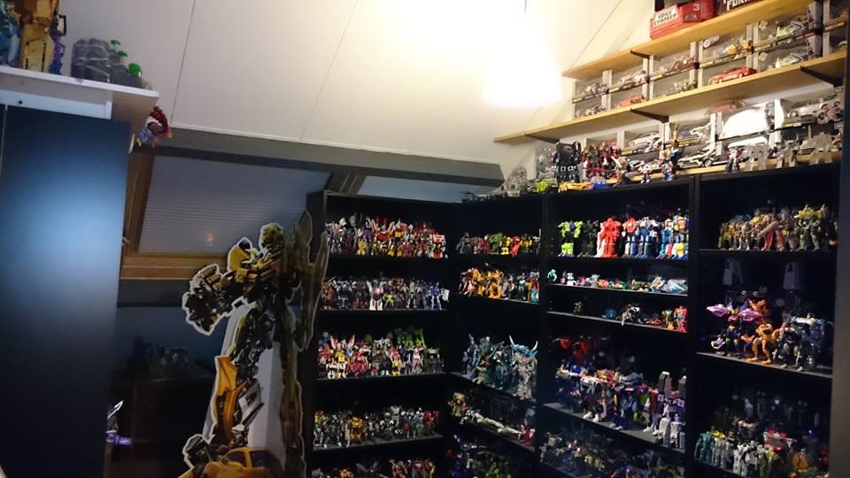 Transformers shelfporn Vincent Tijbout