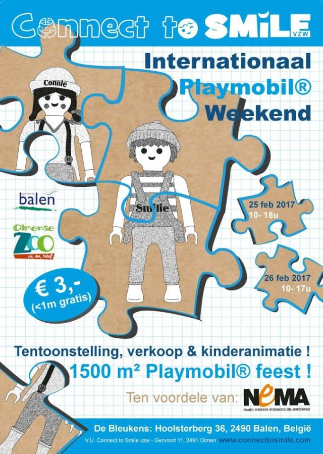 2e grote Internationale Playmobilbeurs Connect To Smile