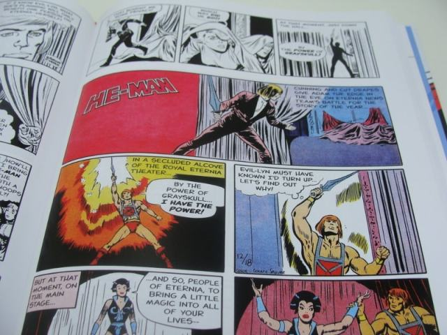 He-Man and the Masters Of The Universe The Newspaper Strips Interior