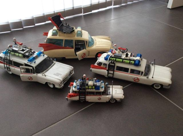 ECTO-1 Ghostbusters Hotwheels Playmobil LEGO Kenner