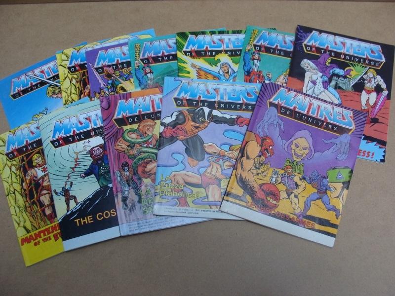 Masters Of The Universe mini comics
