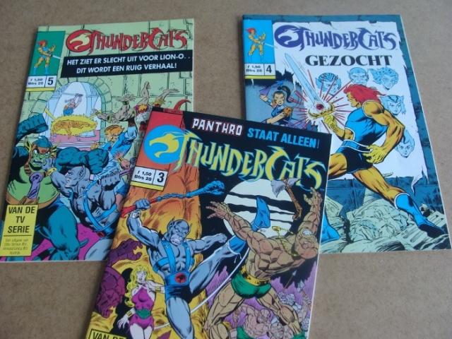 Thundercats Nederlandstalig comics