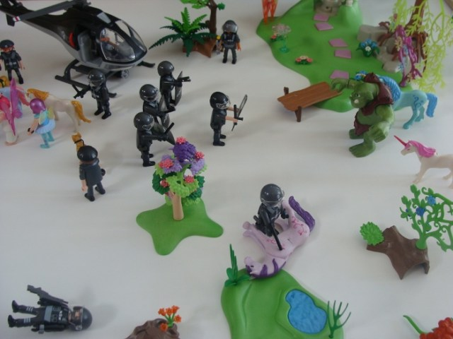 playmobil diorama