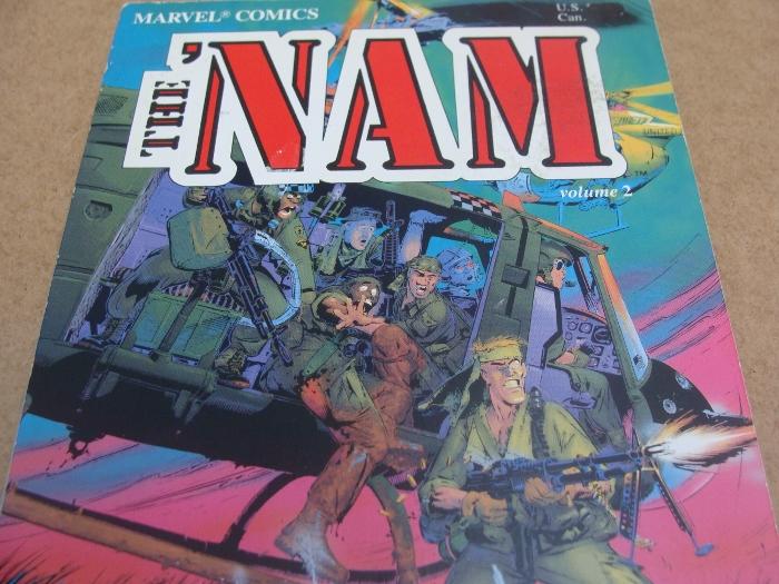 comic con antwerpen haul The Nam Michael Golden