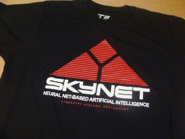 Comic Con Antwerp Skynet Terminator 2
