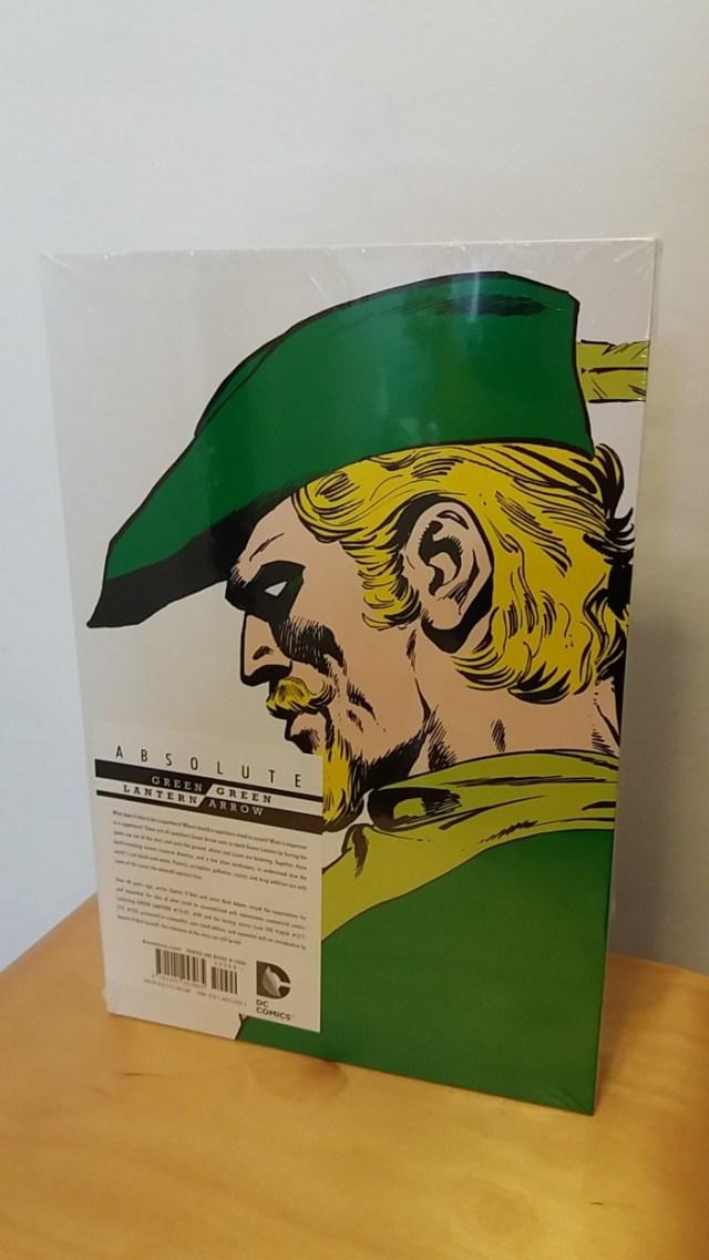 Absolute Green Lantern Green Arrow Strips