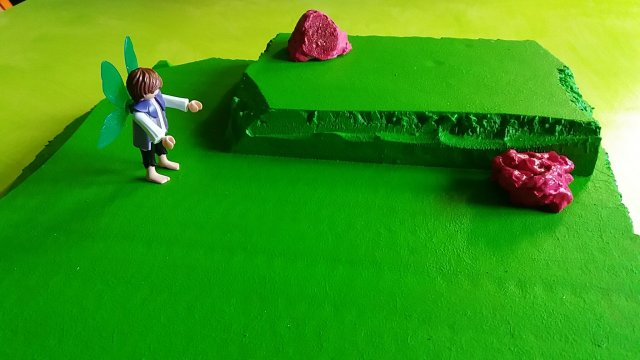 playmobil feeënbos diorama
