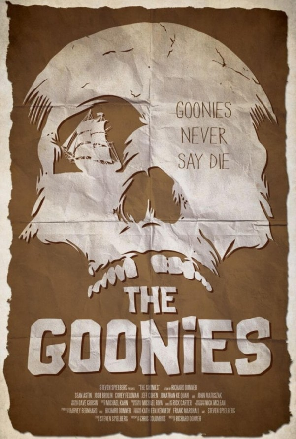 The Goonies movie poster