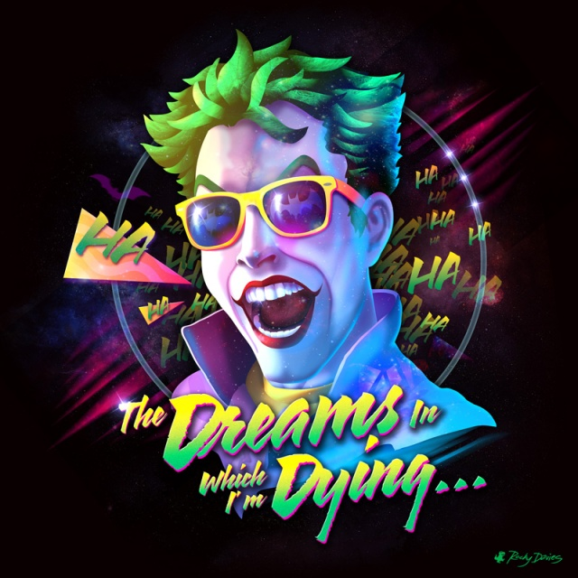 Joker Batman 80s Rocky Davies
