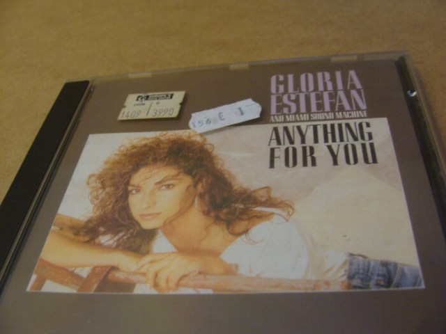 Gloria Estefan Album Cover Anything For You