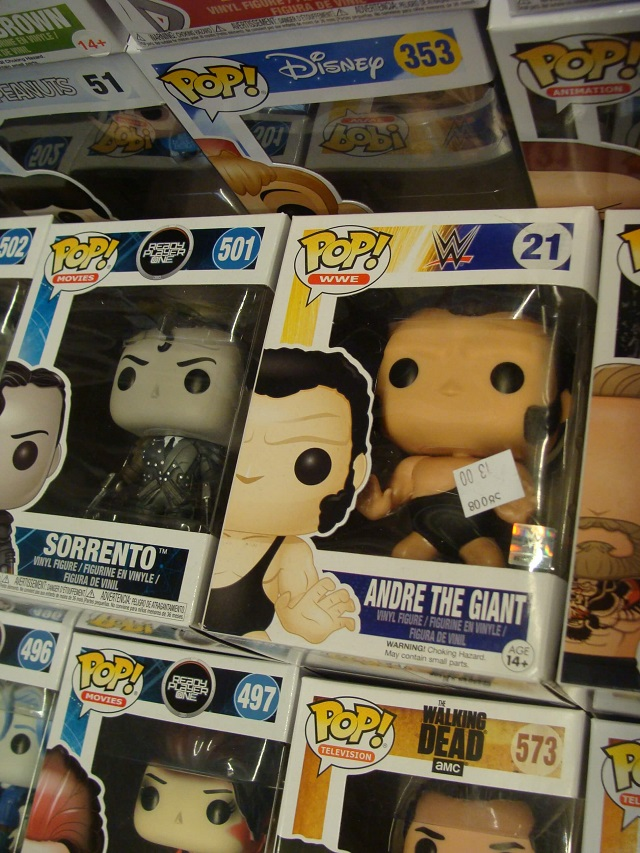 Andre the giant funko pop