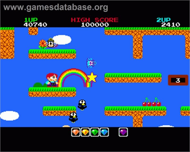 Rainbow islands Commodore Amiga