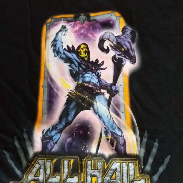 all Hail Skeletor T-shirt Dirtees