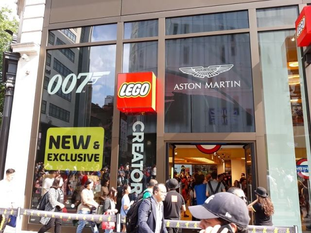 LEGO Store London Shopping