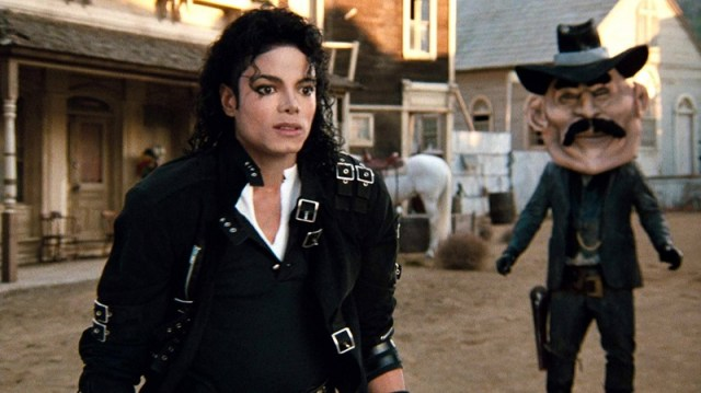 Michael Jackson Moonwalker Bad
