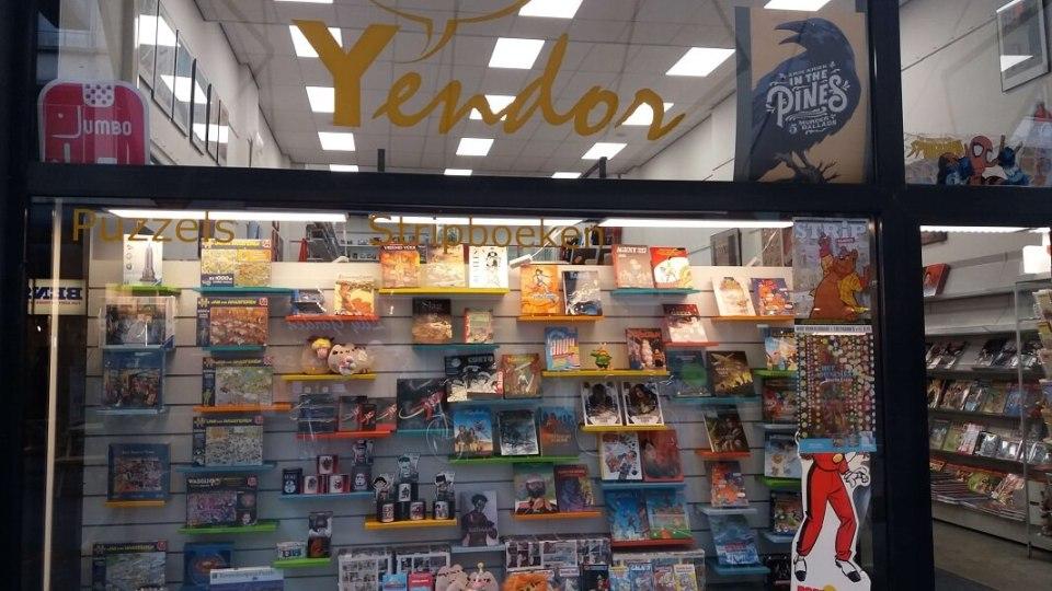 stripwinkel Yendor Rotterdam