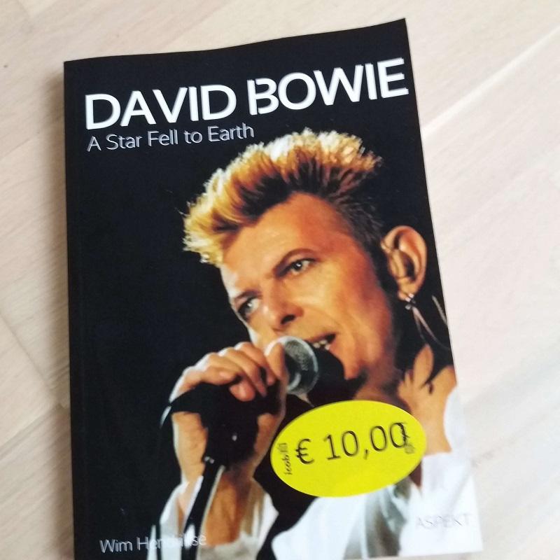 David Bowie boeken Kerst