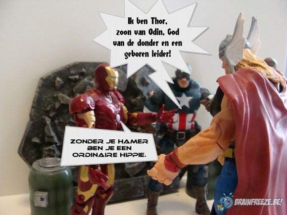 Figuurlijk Gesproken Thor is een ordinaire hippie