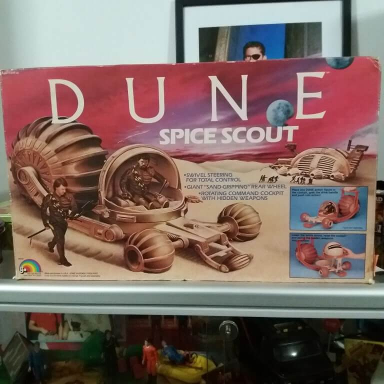 Dune Spicescout Toy LJN