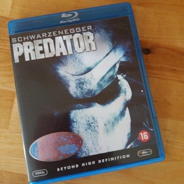 Arnold Schwarzenegger Predator Blu Ray