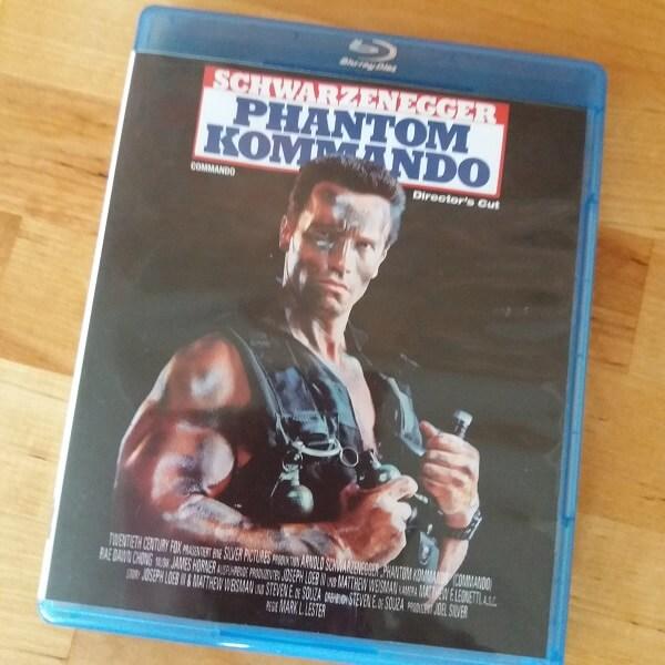 Arnold Schwarzenegger Commando Blu Ray