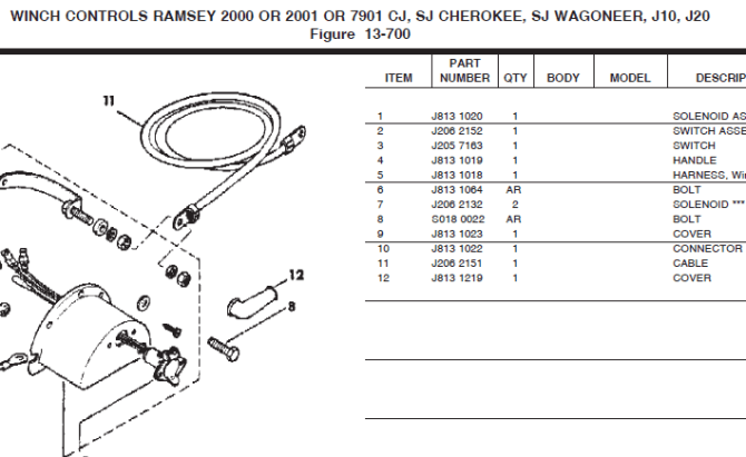 strongarm electric winch wiring diagram  explore schematic