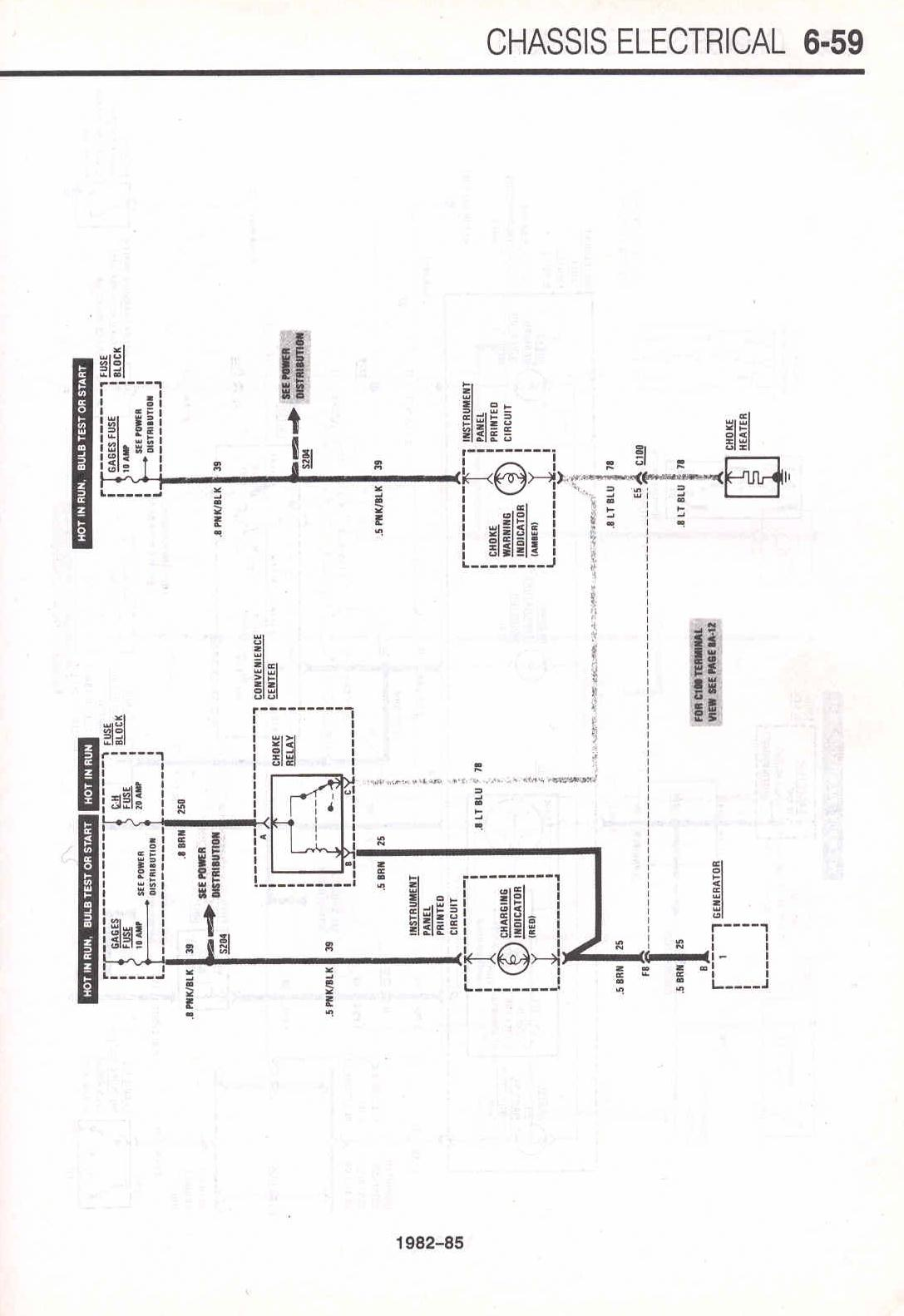 Mustang Electric Choke Wiring Diagram