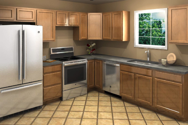 Eat Kitchen Floor Plans