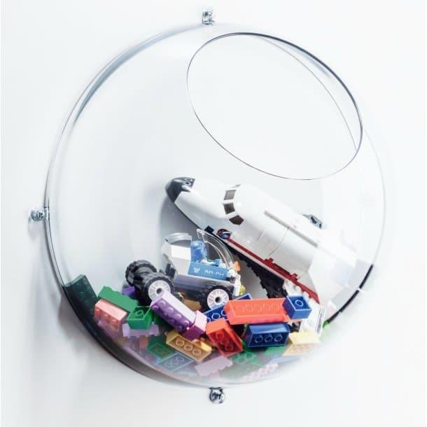 casier mural bulle de bonheur big cristal translucide koziol