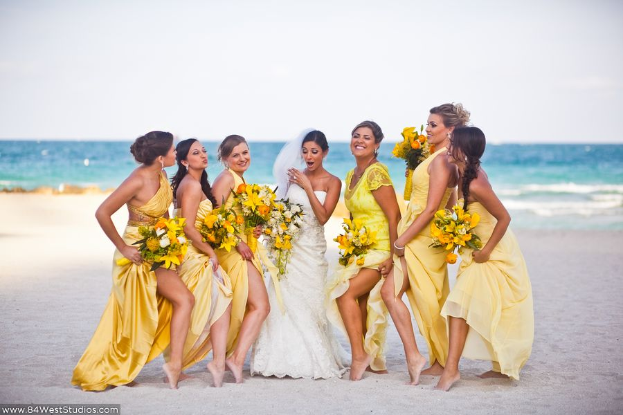 Real Weddings At The Palms Hotel In Miami Beach Florida