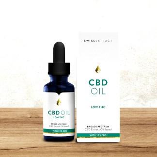 SwissExtract, CBD oil. Low THC
