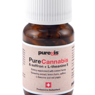 PureCannabis & saffron + L-théanine 5
