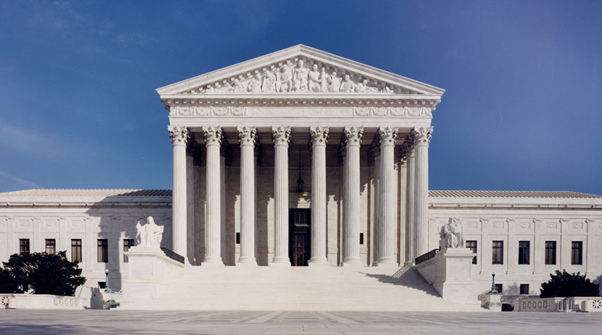 What happens after federal courts run out of money to continue operations?