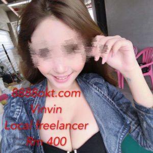 Vinvin ~ Local Chinese Freelance Girl ~ PJ Escort ~ KL Escort