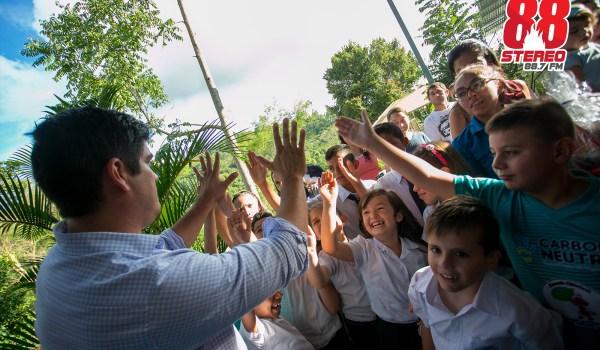 Escuela Chimirol en Rivas de Pérez Zeledón, ganadora por segundo año consecutivo de la Certificación de Carbono Neutralidad.