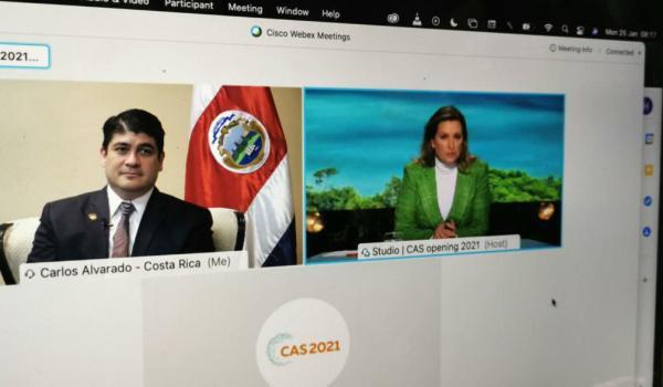 """Primer Ministro de Países Bajos: """"Costa Rica es uno de los países más amigables con el clima y el medioambiente"""""""