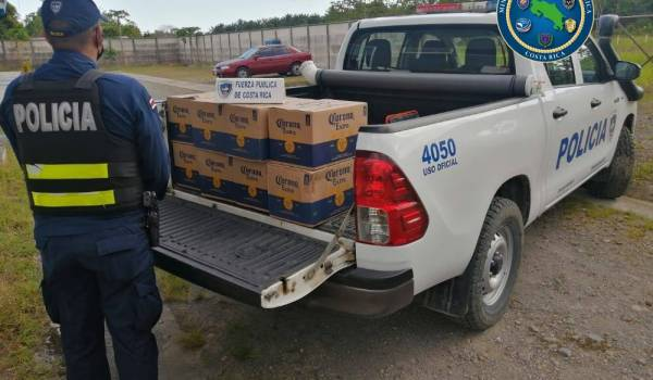 Fuerza Pública aprehendió a cinco personas durante megaoperativo en Región Brunca
