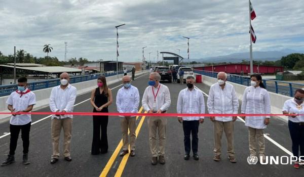 Costa Rica y Panamá inauguraron nuevo puente binacional