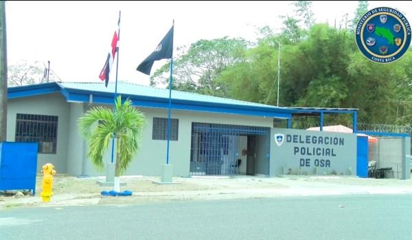 Policías de Osa estrenan nueva delegación policial