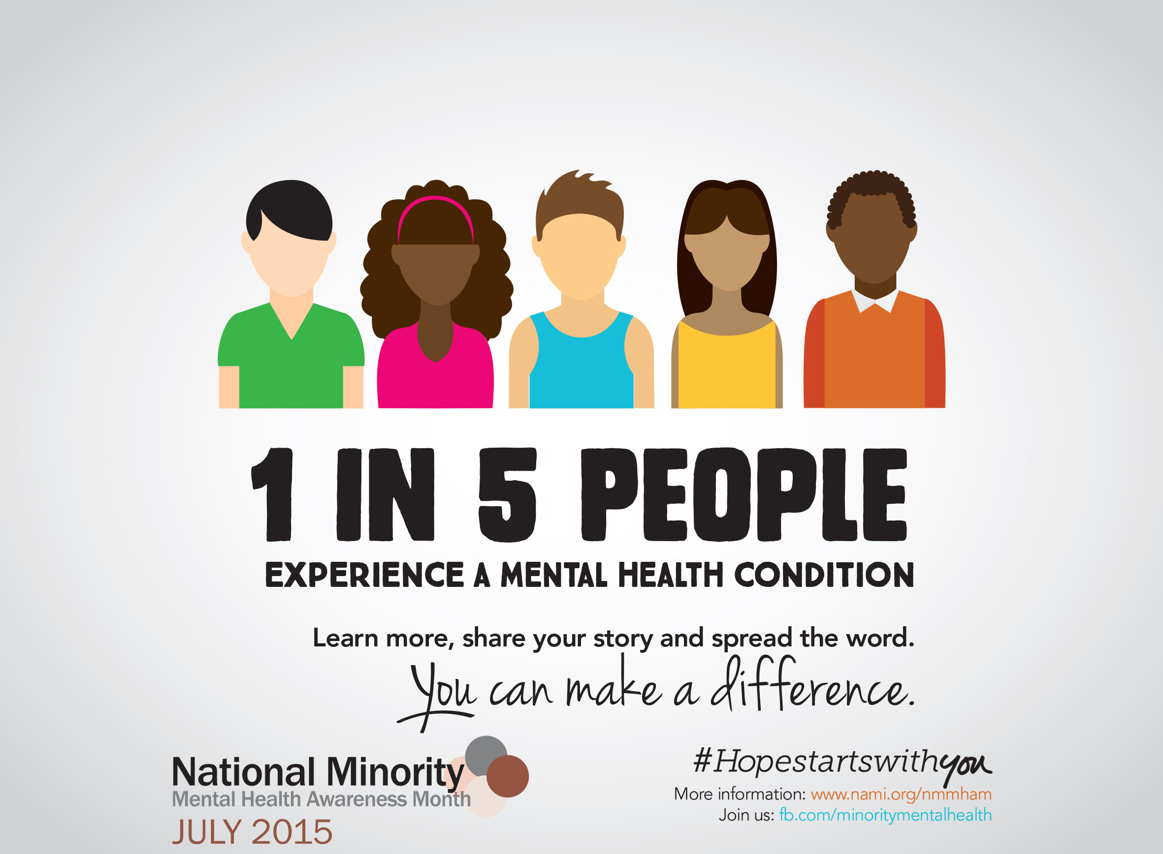 July National Minority Mental Health Awareness Month
