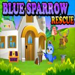 Blue Sparrow Rescue Escape