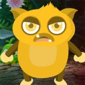Games4King Yellow Creature Escape