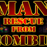 Man rescue from zombie