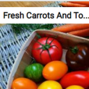 Fresh Carrots And Tomatoes Jigsaw Puzzle Game