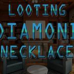 Looting Diamond Necklace