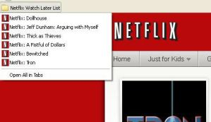How to create a Netflix Watch Later List in the Mozilla Firefox Browser