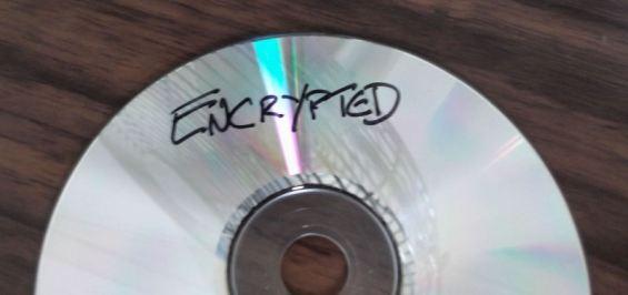 encrypted CD